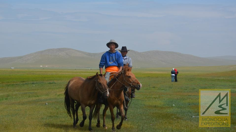Horse Riding to the Land of Genghis Khan