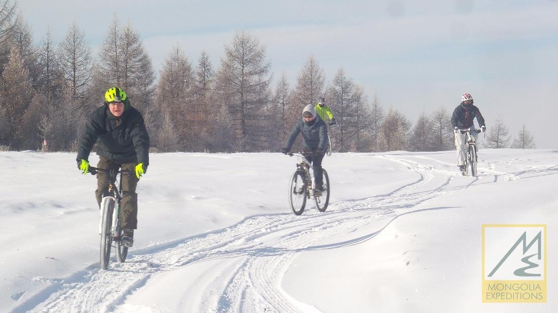 Cycling in winter
