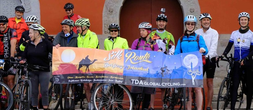 Silk Route Beijing - Istanbul  cycling 2016