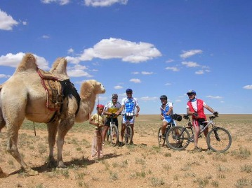 The Gobi Desert Mountains biking tour
